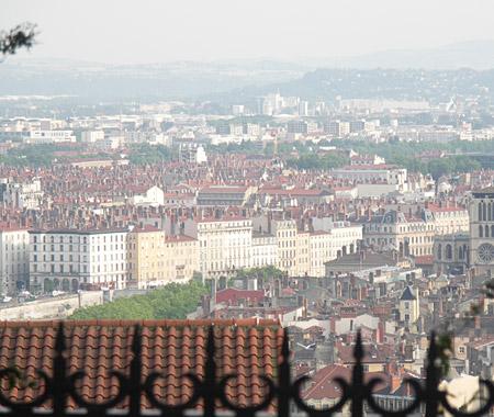 Ausblick auf Lyon